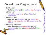 correlative conjunctions1