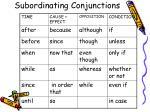 subordinating conjunctions2