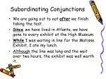 subordinating conjunctions6