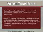 student travel forms3