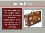 student travel1