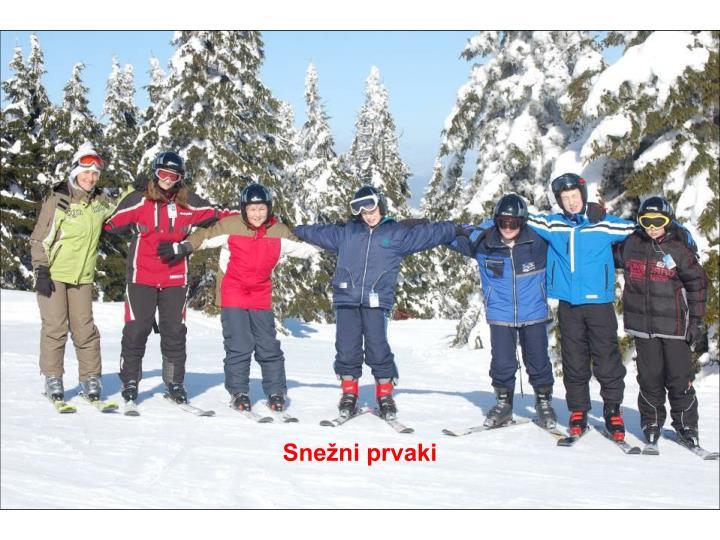 Snežni prvaki