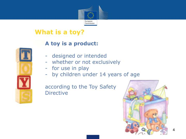 What is a toy?