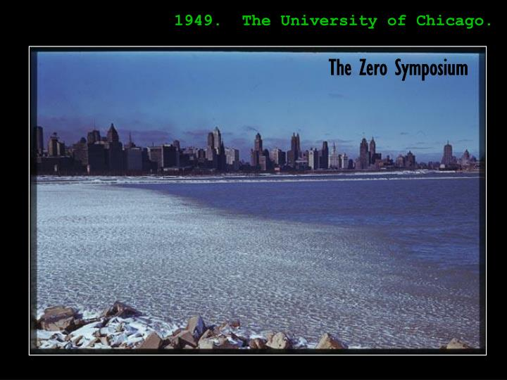 1949.  The University of Chicago.
