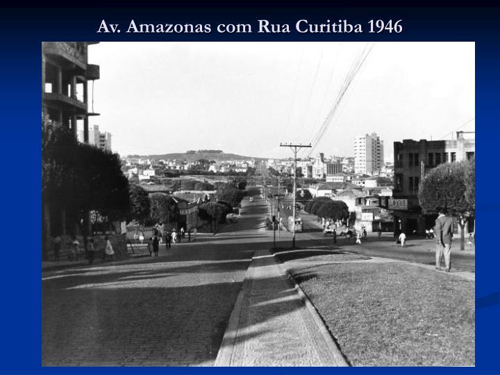 Av. Amazonas com Rua Curitiba 1946