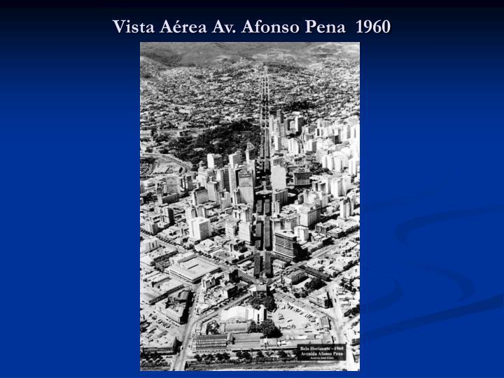Vista Aérea Av. Afonso Pena  1960