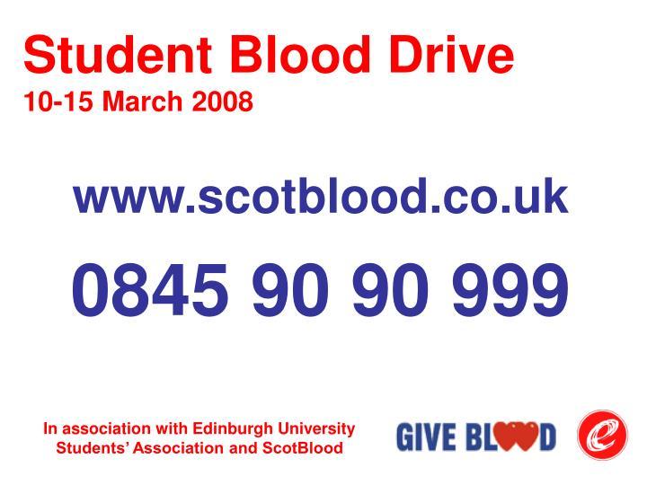 Student Blood Drive
