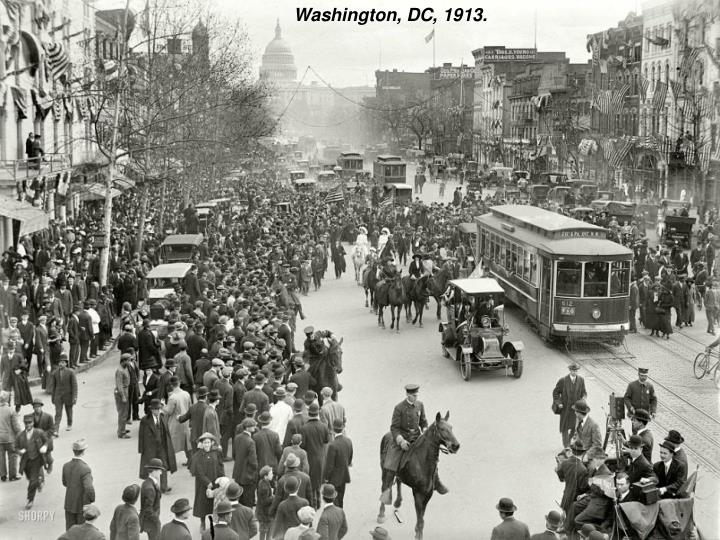 Washington, DC, 1913.