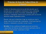 principe de base de l algorithme de johnson