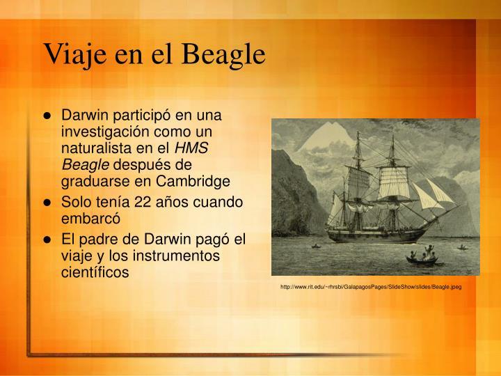 Viaje en el Beagle