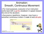 animation smooth continuous movement1
