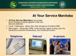 at your service manitoba