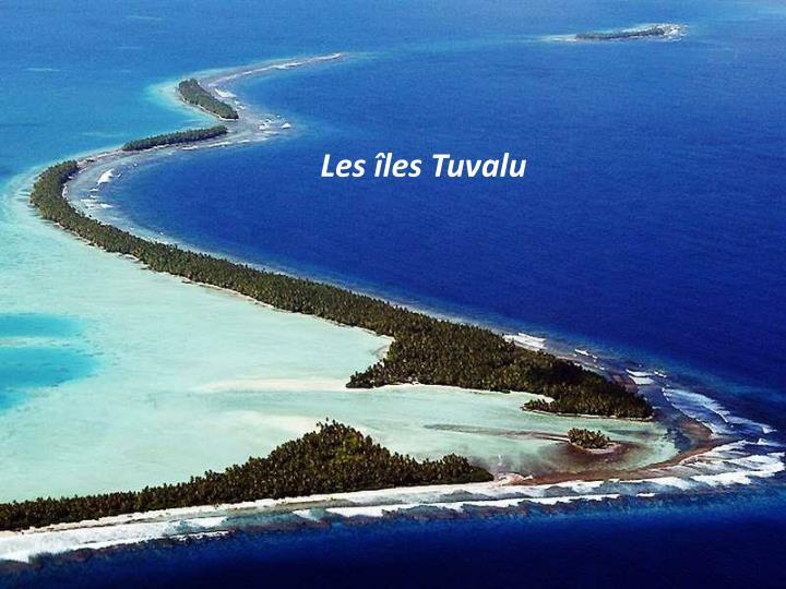 Les îles Tuvalu