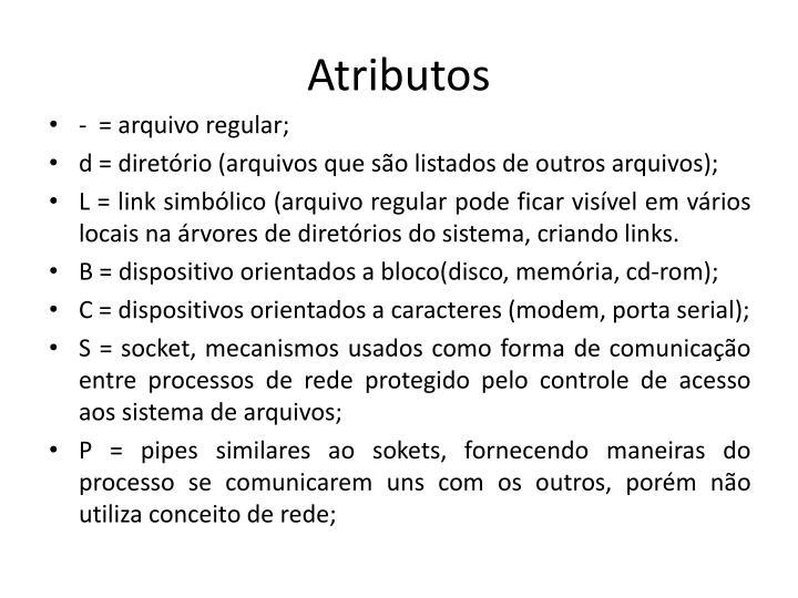 Atributos