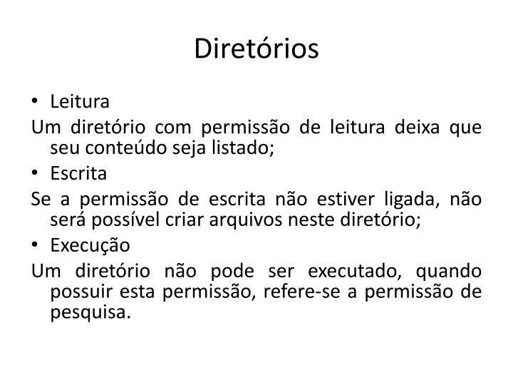 Diretórios