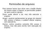 permiss es de arquivos