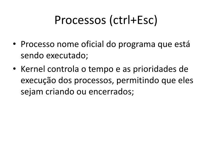 Processos (