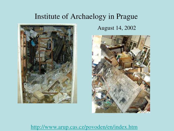 Institute of Archaelogy in Prague