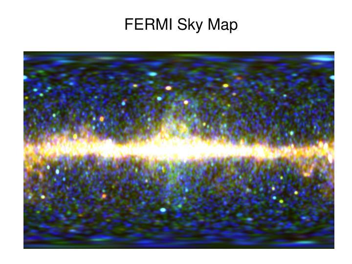 FERMI Sky Map