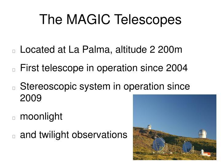 The MAGIC Telescopes