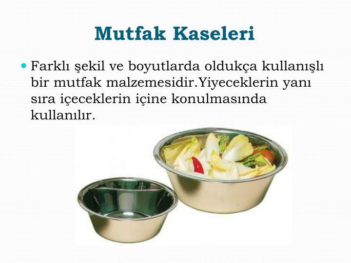 Mutfak Kaseleri