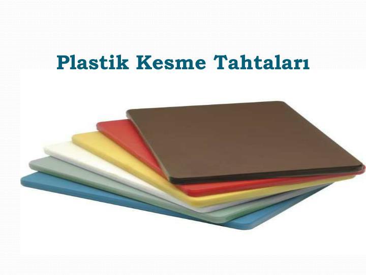 Plastik Kesme Tahtaları
