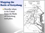 mapping the battle of gettysburg