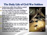 the daily life of civil war soldiers1