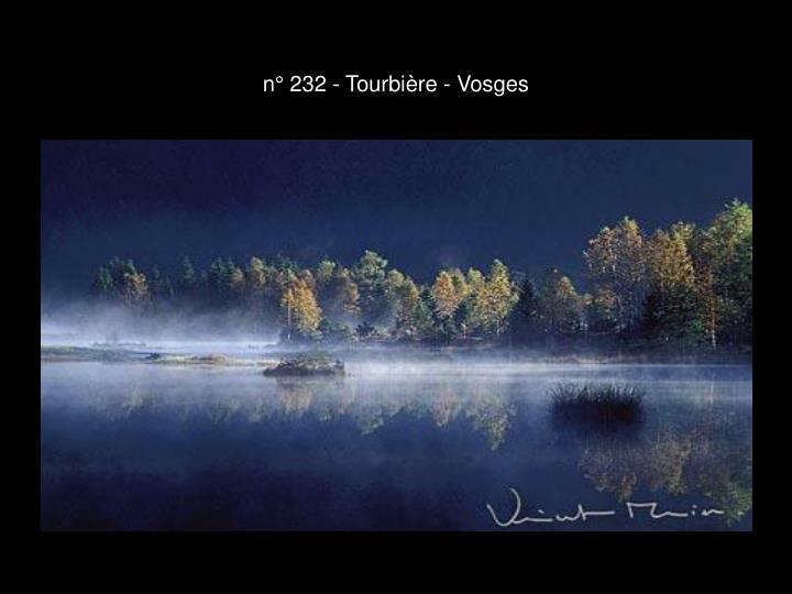 n° 232 - Tourbière - Vosges