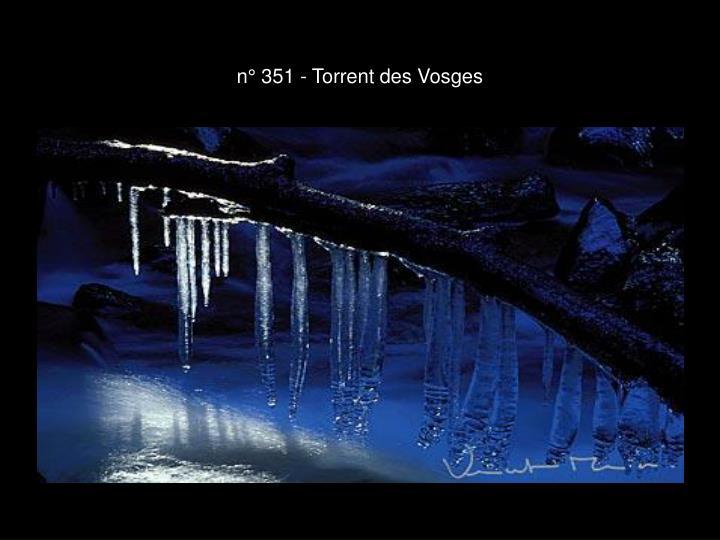 n° 351 - Torrent des Vosges
