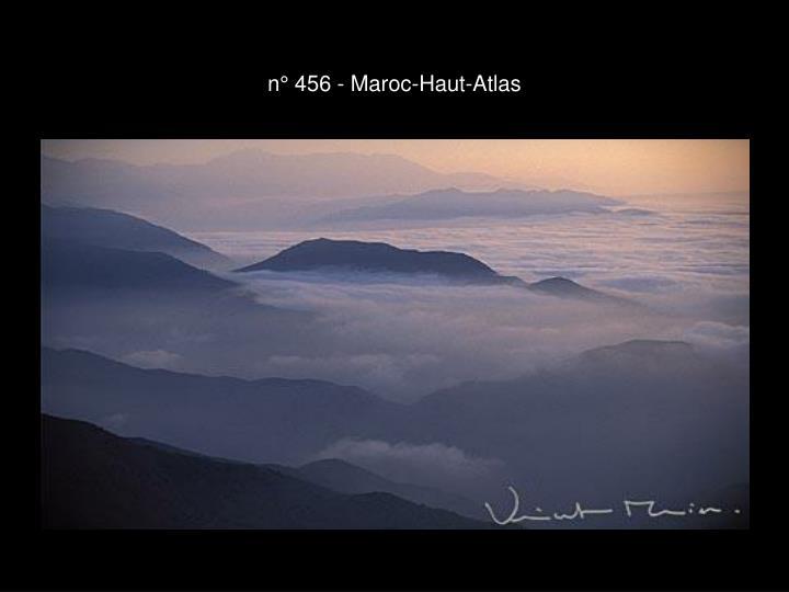 n° 456 - Maroc-Haut-Atlas