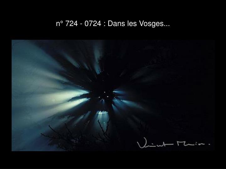 n° 724 - 0724 : Dans les Vosges...