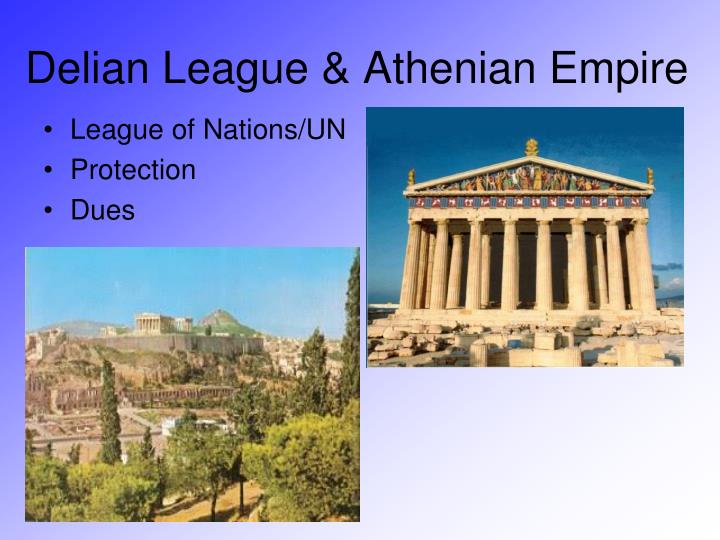 Delian League & Athenian Empire