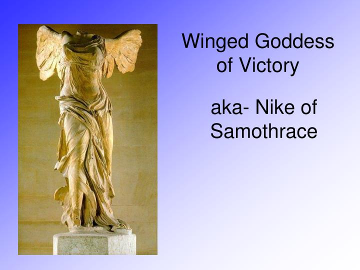Winged Goddess of Victory
