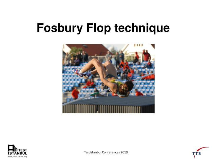 Fosbury Flop technique