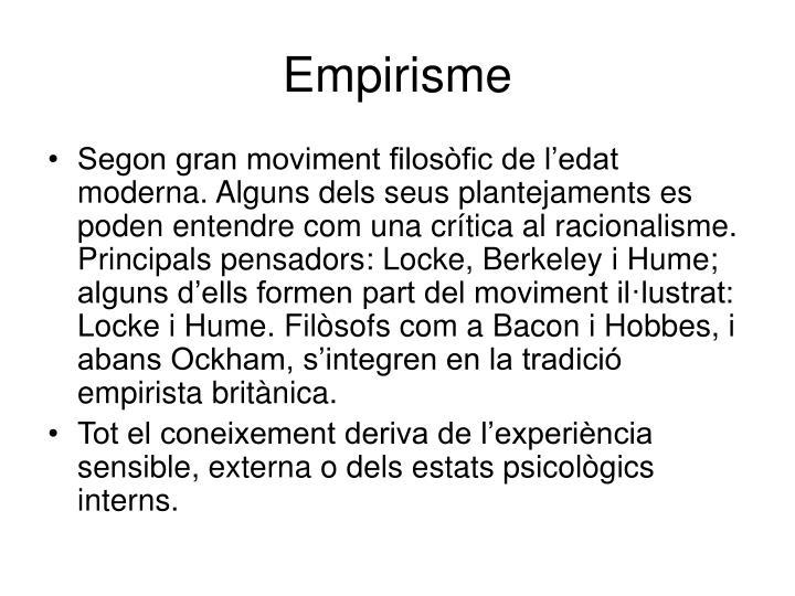 Empirisme