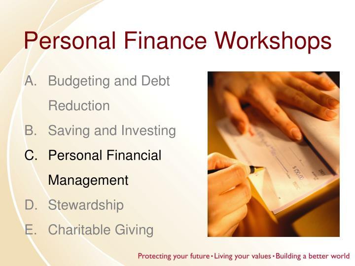 Personal Finance Workshops
