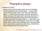 pharaoh s dream