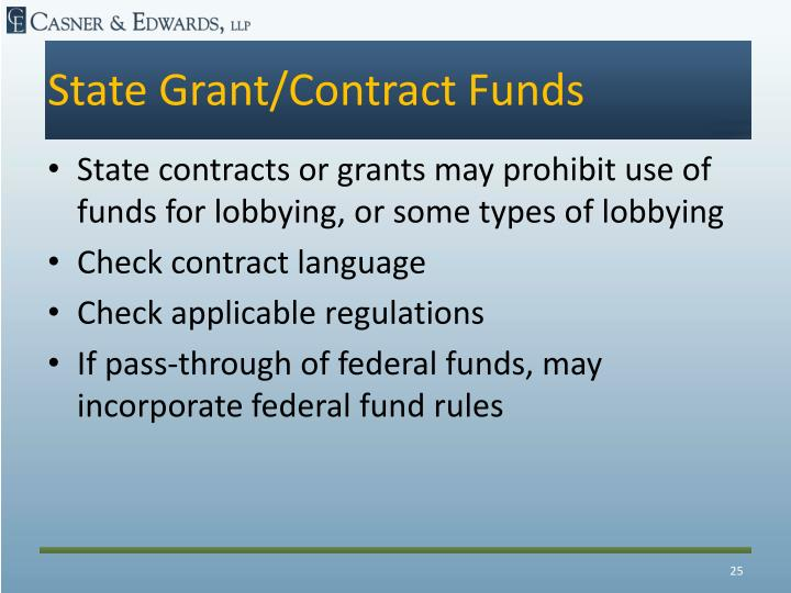 State Grant/Contract Funds