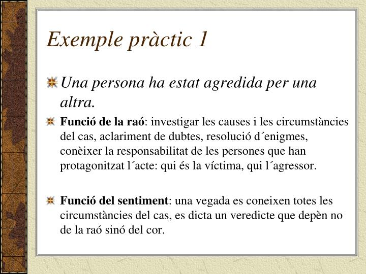 Exemple pràctic 1