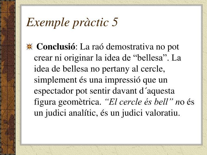 Exemple pràctic 5