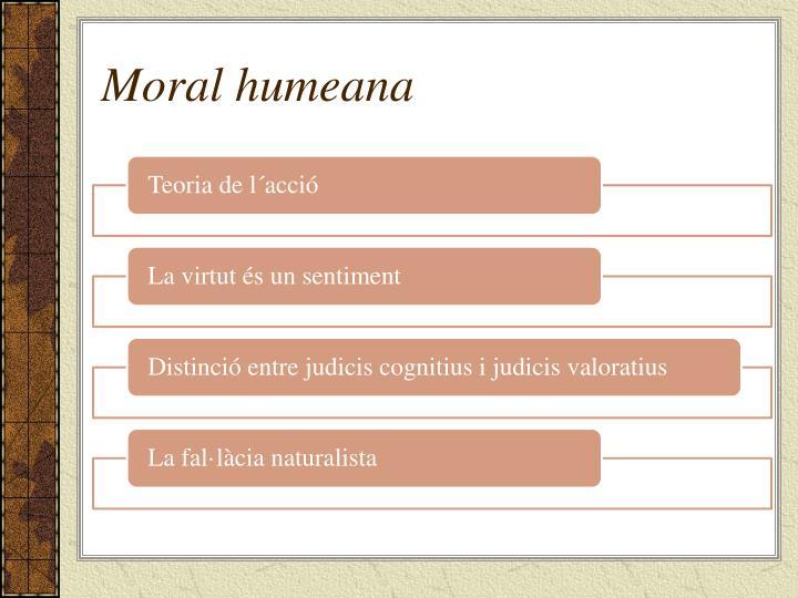 Moral humeana