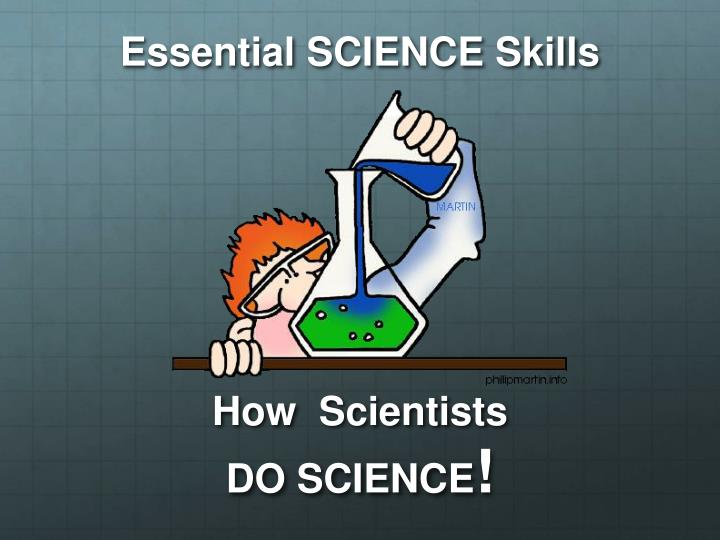 Essential SCIENCE Skills