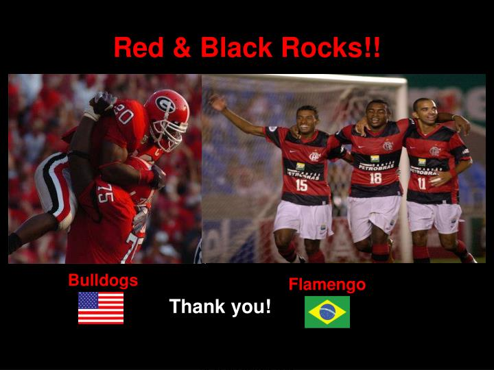 Red & Black Rocks!!