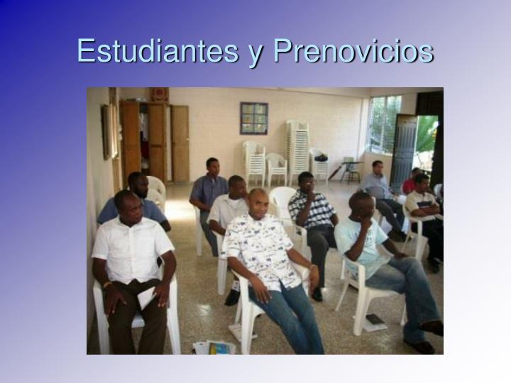 Estudiantes y Prenovicios
