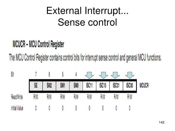 External Interrupt...