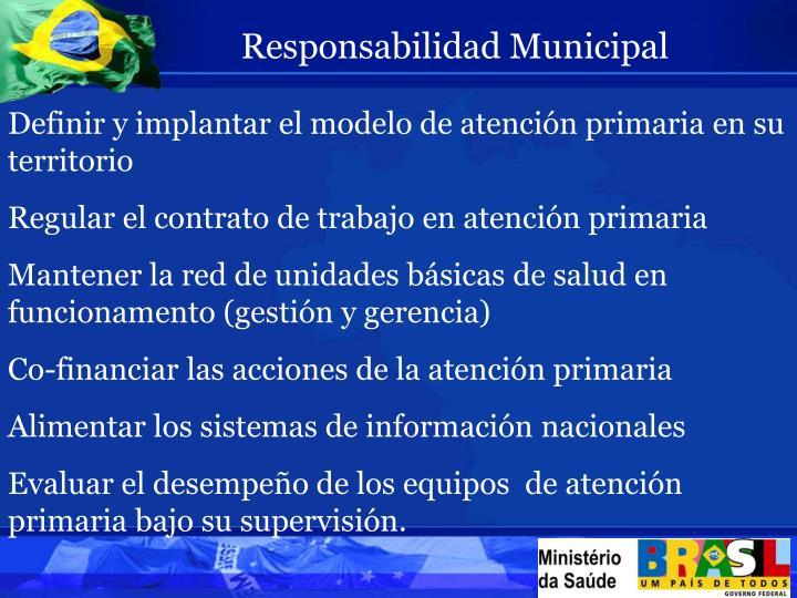 Responsabilidad Municipal