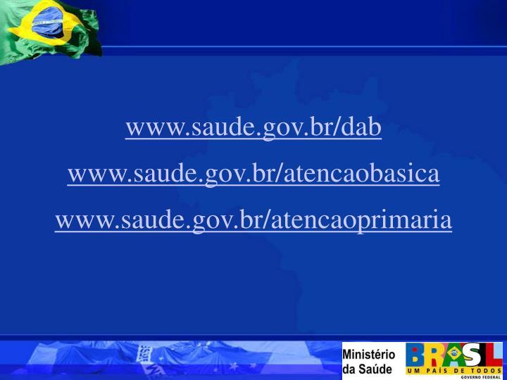www.saude.gov.br/dab