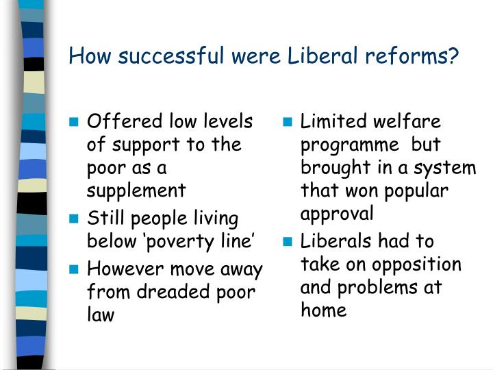 Offered low levels of support to the poor as a supplement