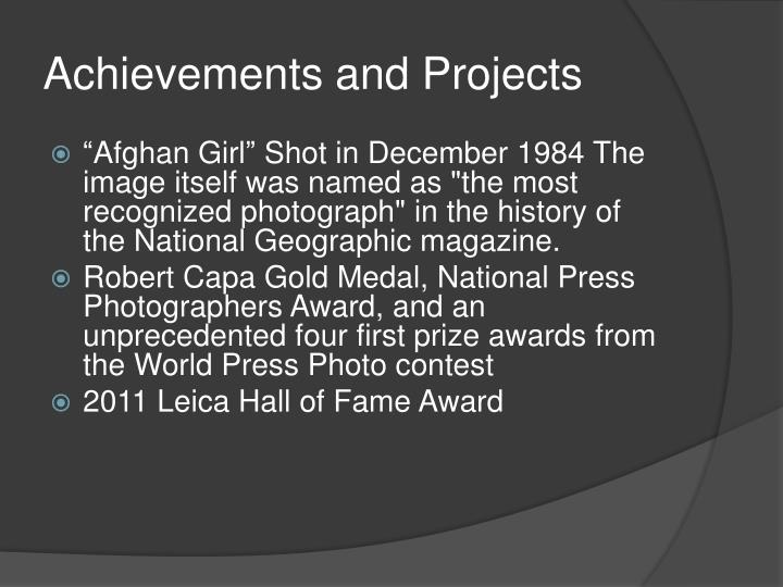 Achievements and Projects